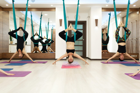 5 benefits of aerial yoga for your body and overall health
