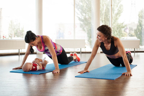 4 effective post-partum core exercises