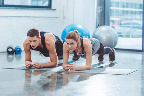 Planks for beginners: exercises and routines